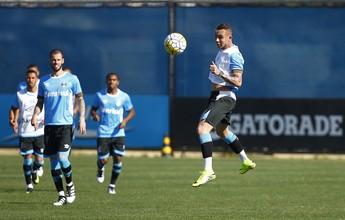 Everton volta a treinar no Grêmio e fica à disposição para jogo com Cruzeiro