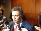 Se Lula não teve critério no STF, imagina com assessores, diz Aécio