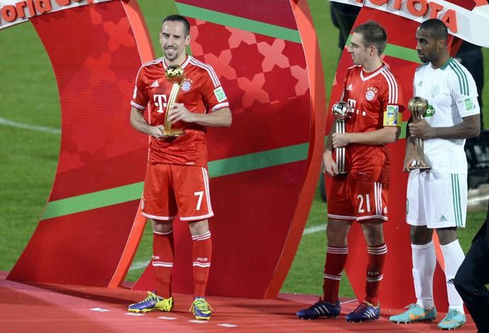 ribery melhor jogador mundial de clubes bayern munique x raja casablanca (Foto: AFP)