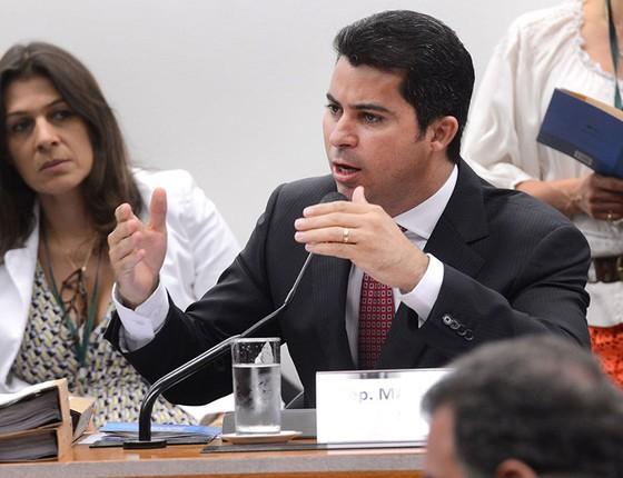 Relator Marcos Rogério dá parecer sobre processo de Eduardo Cunha no Conselho de Ética (Foto: Antonio Cruz/Agência Brasil)