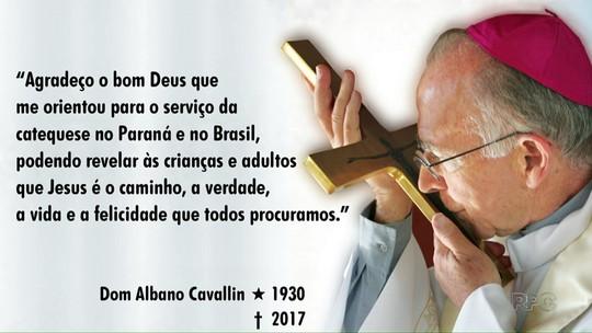 Sepultamento de Dom Albano será nesta sexta, na Catedral de Londrina