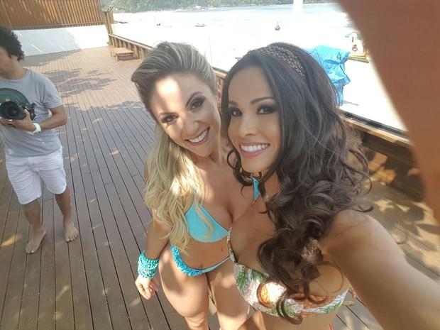 Fernanda D'avila e Natalia Lavagnolli (Foto: Divulgação/Divulgação)