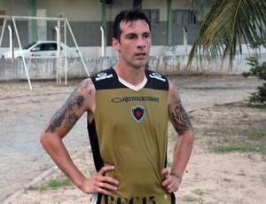 Mario Larramendi, Botafogo-PB, Campeonato Brasileiro, Série D, Treino, IFPB (Foto: Richardson Gray / Globoesporte.com/pb)