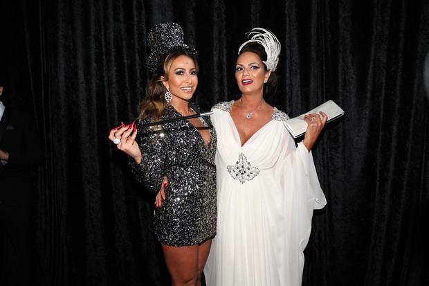 Sabrina Sato e Luiza Brunet em baile da gala da revista 'Vogue' em São Paulo (Foto: Manuela Scarpa/ Foto Rio News)