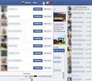 O perfil no Facebook do chileno Rodrigo: mais de cem pedidos de amizade por parte de desconhecidos (Foto: Reprodução/Facebook/Rodrigo Escobar)