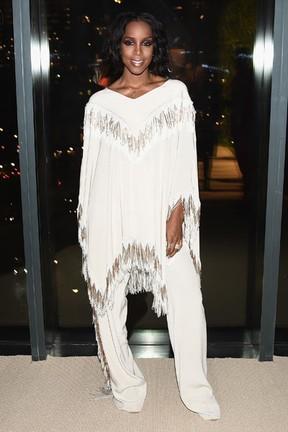 Kelly Rowland em prêmio de moda em Nova York, nos Estados Unidos (Foto: Nicholas Hunt/ Getty Images/ AFP)