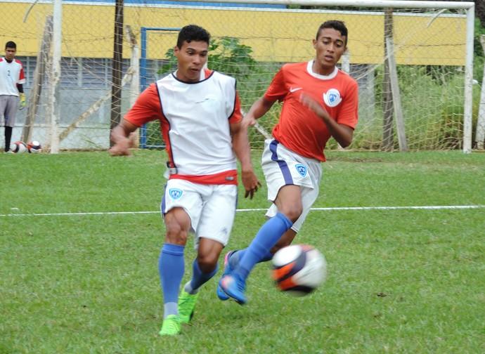 Osvaldo Cruz, treino, Azulão (Foto: Murilo Rincon / GloboEsporte.com)