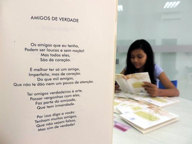 'Amigos de Verdade' foi a poesia que 'abriu portas' (Foto: Carlos Dias/G1)