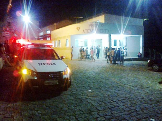 PM fez cerco policial em Cláudio (Foto: Polícia Militar/Divulgação)