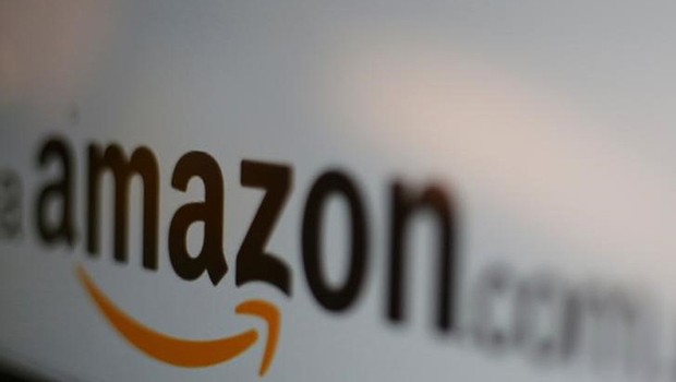 Logo da Amazon na Cidade do México (Foto: Carlos Jasso/Reuters)
