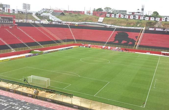 Vitória X Santos - Barradão (Foto: Thiago Pereira)