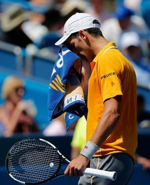 Novak Djokovic vence David Goffin no Masters 1000 de Cincinnati (Foto: Getty Images)