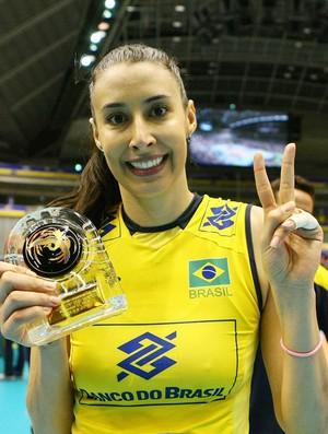 Sheilla vôlei Brasil x Japão (Foto: FIVB)