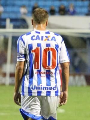 Marquinhos camisa homenagem Avaí Zé Macaco (Foto: Jamira Furlani/Avaí FC)