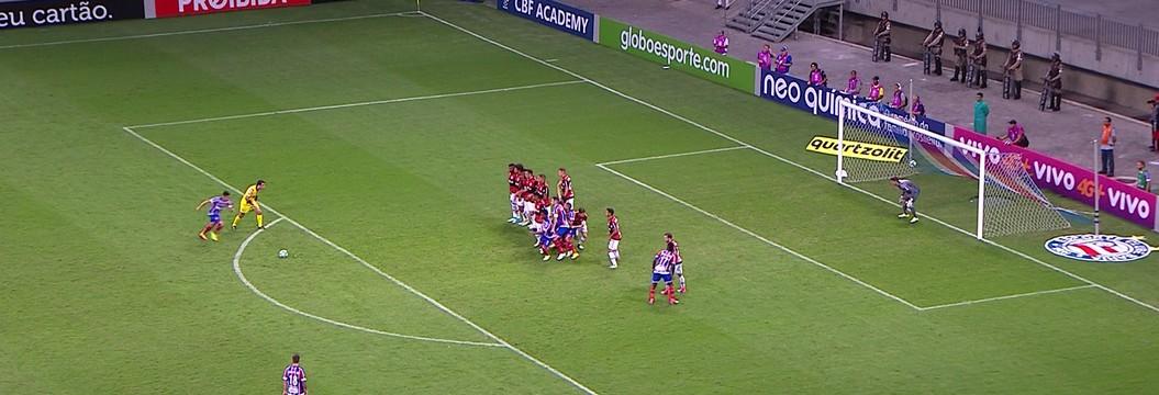 e6e32ff7ee Bahia x Flamengo - Campeonato Brasileiro 2017-2017 - globoesporte.com