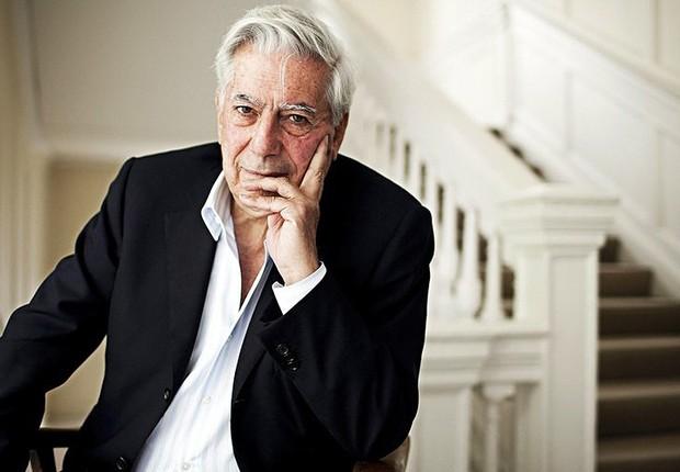 O escritor peruano Mario Vargas Llosa (Foto: Divulgação)