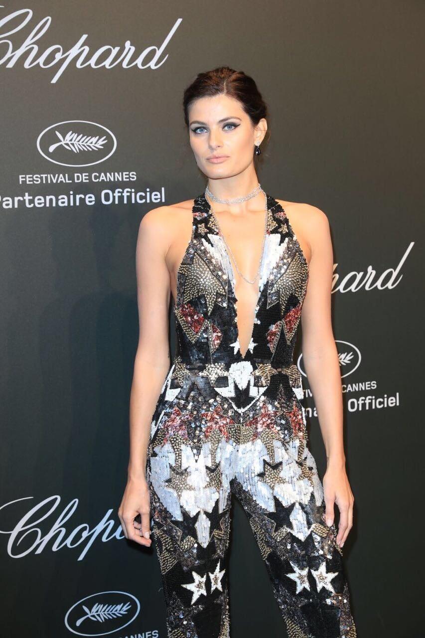 Isabeli Fontana em Cannes 2017 (Foto:  Antonio Barros/ Divulgação)