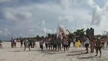 Corrida no mangue chama a atenção em Marudá-PA (Reprodução/ TV liberal)