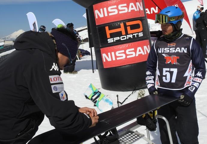 Sul coreano Jin-Yong Woo, snowboard (Foto: Thierry Gozzer)