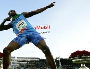 Usain Bolt vence 100m rasos em Oslo pela Diamond League (Foto: Reuters)
