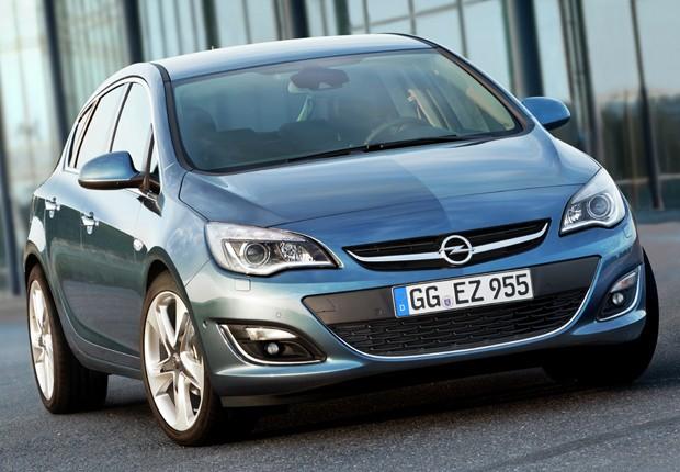 Opel Astra de cinco portas (Foto: Divulgação)