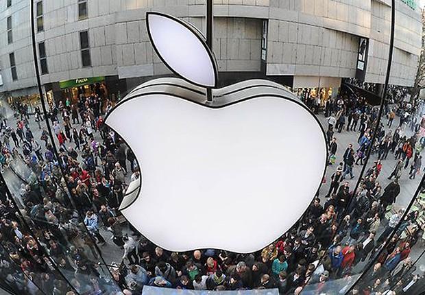 Loja da Apple : multa milionária para filial da empresa na Itália (Foto: Christof Stanche/AFP/Getty Images)
