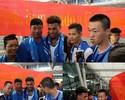 Júnior Urso é recebido por torcedores na China antes de ser anunciado