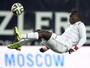 Ganês vítima de racismo é suspenso por dois jogos; Spartak é absolvido