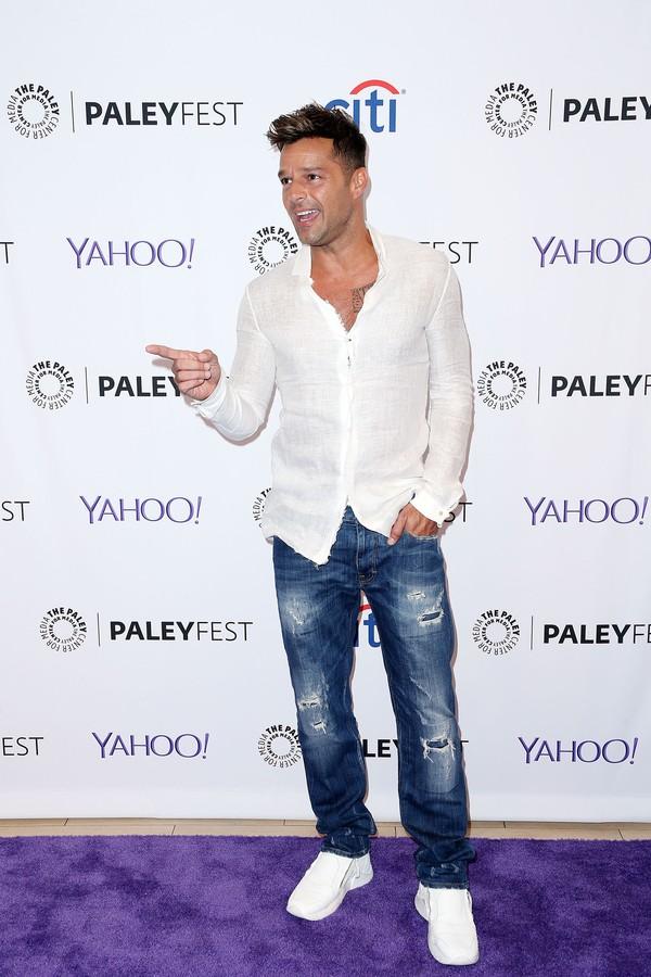 Ricky Martin tem um fetiche que nem todos consideram higiênico... (Foto: Getty Images)