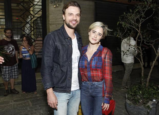 Cássio Reis e Fernanda Vasconcellos (Foto: Thyago Andrade/Brazil News)