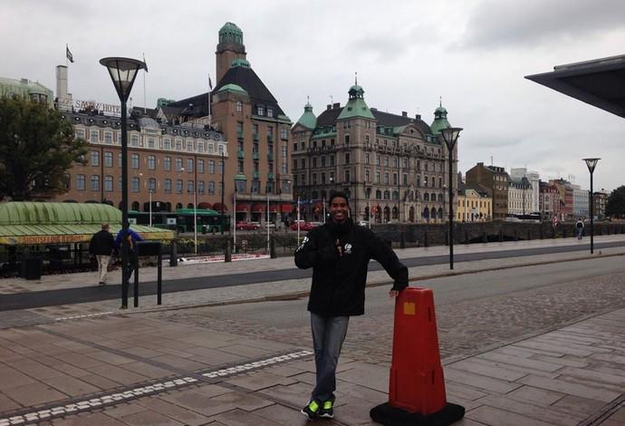 Ygor Coelho está morando e treinando na Dinamarca desde que voltou de Nanquim (Foto: Reprodução/Facebook)