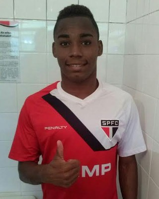 Jean Patrick é o novo reforço do São Paulo (Foto: Divulgação)