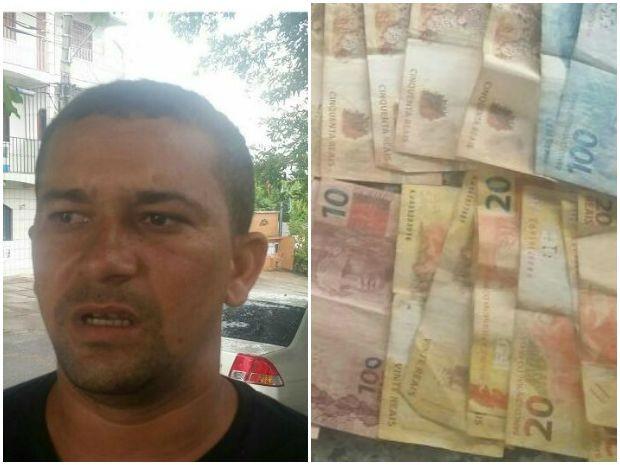 Abergado foi preso com drogas e dinheiro durante abordagem (Foto: Divulgação/ Polícia)