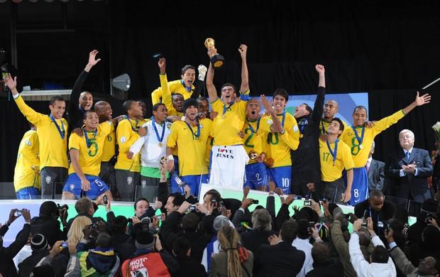 brasil copa das confederações 2009 (Foto: Getty Images)