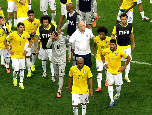 Brasil derrota jogo Holanda (Foto: AP)