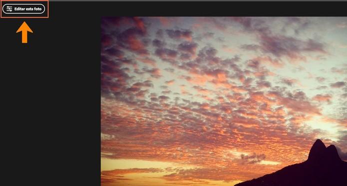 Inicie a edição da sua imagem com o Adobe Lightroom Web (Foto: Reprodução/Barbara Mannara)