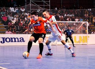 Sorocaba Futsal x Carlos Barbosa, LNF (Foto: Danilo Camargo / Futsal Brasil Kirin)