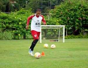 Paulo Miranda treino São Paulo (Foto: Reprodução/saopaulofc.net)