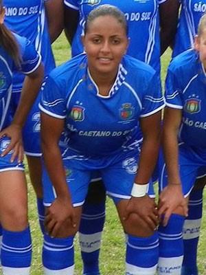 Joyce atuou pelo São Caetano em 2003 (Foto: Reprodução/Facebook/São Caetano Futebol Feminino)
