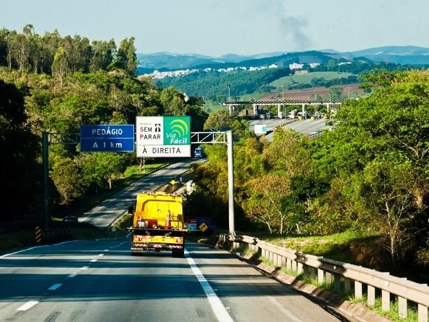 Pedágio da Fernão Dias fica mais caro a partir deste sábado no Sul de MG (Foto: Reprodução EPTV)