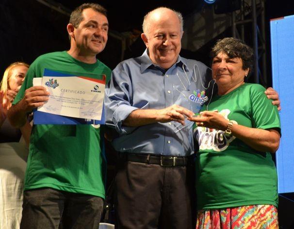 Equipe Verde foi a vencedora desta 12ª edição do Mãos Amigas (Foto: Divulgação / TV Sergipe)