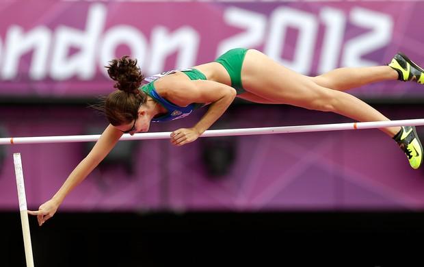 Fabiana Murer, Atletismo (Foto: Agência AP)