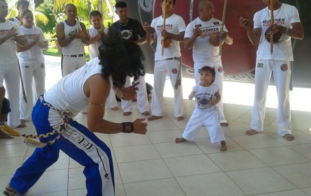 Capoeira em Santarém (Foto: Divulgação: Centro Cultural Angonal)