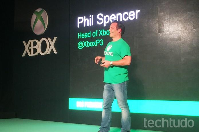 Phil Spencer (Foto: Victor Teixeira /TechTudo)