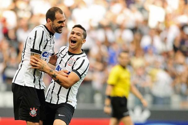 Corinthians enfrenta San Lorenzo pela Libertadores da América na quarta, dia 4, na Argentina (Foto: Marcos Ribolli / Globoesporte.com)