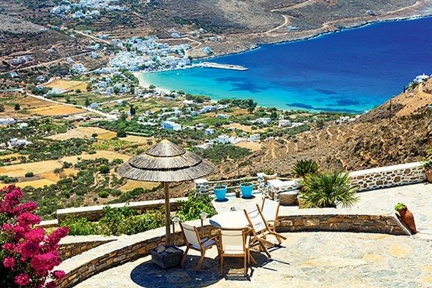Panoramic view of Amorgos island,Cyclades,Greece. (Foto: Getty Images/iStockphoto)