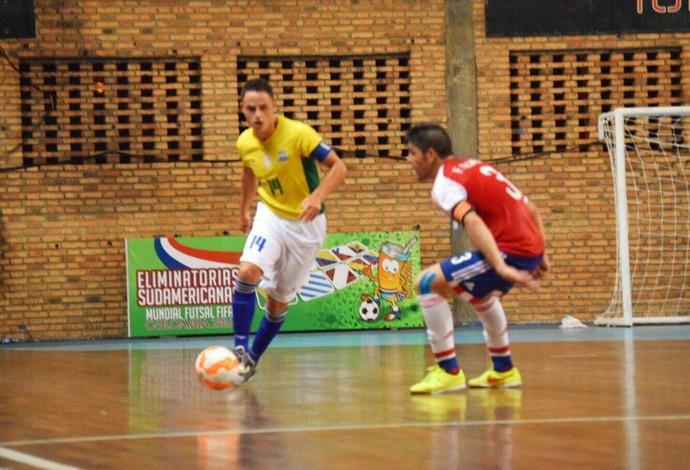 Rodrigo Brasil Paraguai Eliminatórias Mundial de Futsal (Foto  Luis  Domingues CBFS) 6d51803ac4410