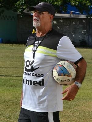 Flávio Annunziata, técnico do Rio Branco-ES (Foto: Sidney Magno Novo/GloboEsporte.com)