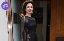 Look do dia: Luciana Gimenez usa vestido arrasador em evento de moda