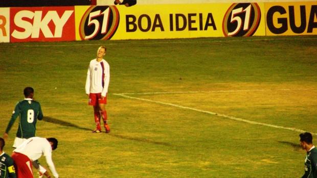 Guaratinguetá x Goiás (Foto: Filipe Rodrigues / Globoesporte.com)